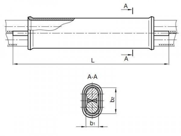 Зажим соединительный СОАС-95-3