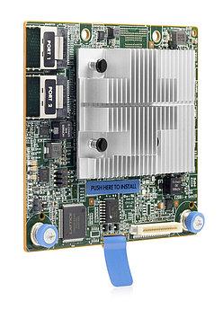 Контроллер RAID 804326-B21 HPE Smart Array E208i-a SR Gen10 (8 Internal Lanes/No Cache) 12G SAS MODULAR