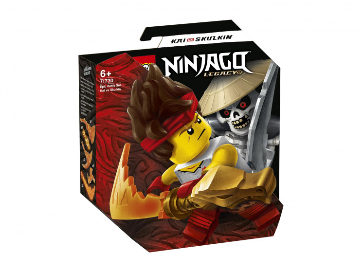 71730 Lego Ninjago Легендарные битвы: Кай против Армии скелетов, Лего Ниндзяго - фото 1