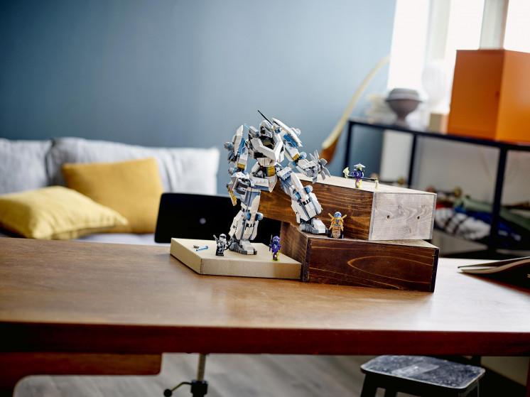 71738 Lego Ninjago Битва с роботом Зейна, Лего Ниндзяго - фото 10