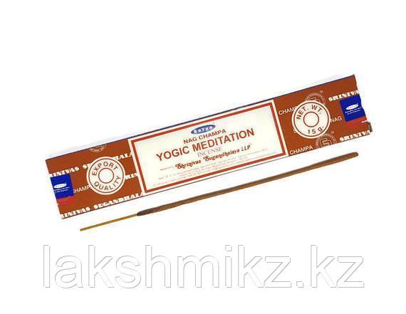 Благовония Satya YOGIC Meditation уп 15 Грамм