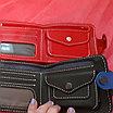 Набор ремень и портмоне из натуральной кожи, фото 5