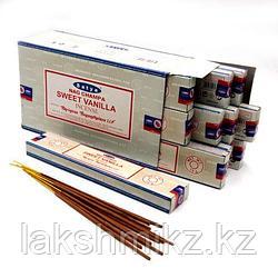 Благовония Satya  Sweet Vanilla уп 15 грамм