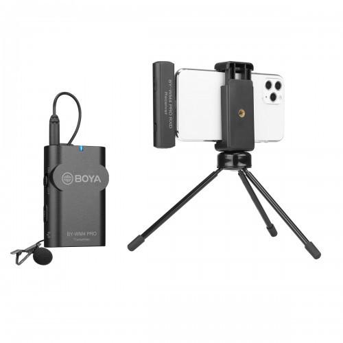 BOYA BY-WM4 PRO-K3 Беспроводной петличный микрофон для iPhone, IOS до 60 метров