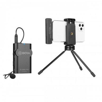 BOYA BY-WM4 PRO-K3 Беспроводной петличный микрофон для iPhone, IOS до 60 метров, фото 2