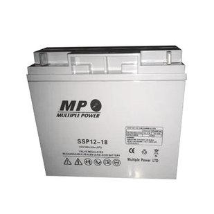 Аккумулятор для электрогенератора 12V/18A SSP