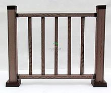 Декоративные ограждения перила ДПК Holzhof woodstyle (готовый комплект)