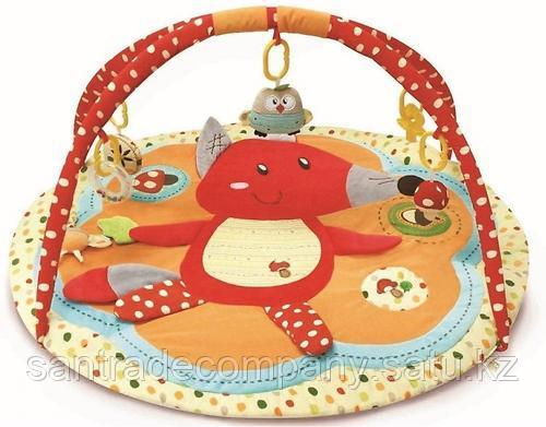 Развивающий коврик Roxy Kids Лисичка и ее друзья с бортиками