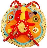 Развивающий коврик Roxy Kids Лисичка и ее друзья с бортиками, фото 2