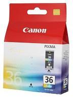Canon 1511B001 Картридж CLI-36 Струйный трехцветный Tri-Color 110 стр 12 мл для PIXMA iP100, IP110, TR150