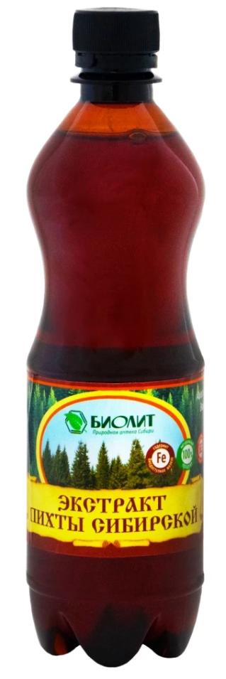 Экстракт пихты сибирской, 500мл