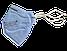 Респиратор СПЕЦ 2СК FFP2, фото 3