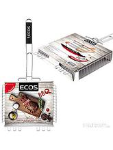 Гриль-решетка ECOS RD-102C 31х24х5см в картоне