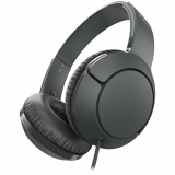 TCL On-Ear Wired Headset, Strong BASS, flat fold, Frequency of response: 10-22K, Sensitivity: 102 dB, Driver