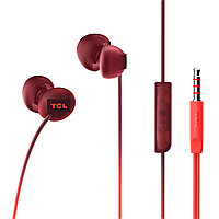TCL In-ear Wired Headset, Frequency of response: 10-23K, Sensitivity: 104 dB, Driver Size: 8.6mm, Impedence:
