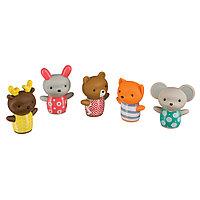 "Happy Baby Набор игрушек на пальцы Happy Baby ""LITTLE FRIENDS"" (32024) -"