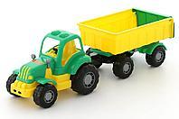 Трактор с прицепом Крепыш №1