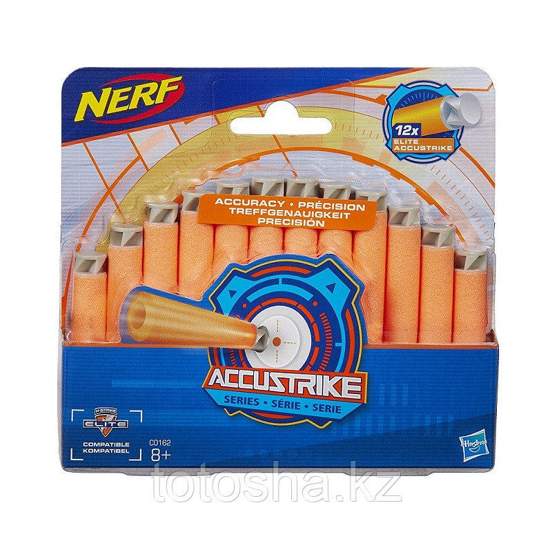 Стрелы Nerf Accustrike Darts 12 шт , C0162