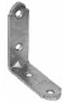 Крепежный уголок мебельный KUM 25х25х16 1,5 (300шт)