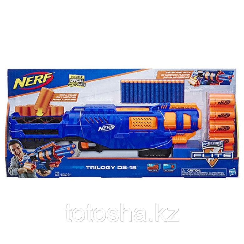 Бластер Nerf Elite Trilogy DS15 Нерф Элит Трилоджи ДС-15, E2853