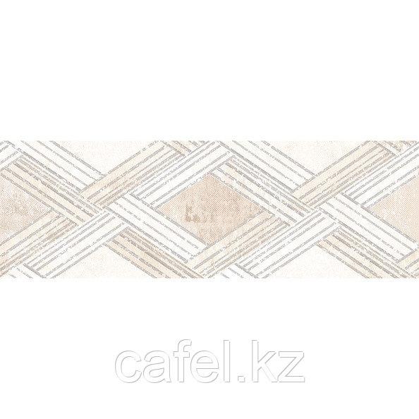 Кафель   Плитка настенная 20х60 Росси   Rossi бежевый декор 1753