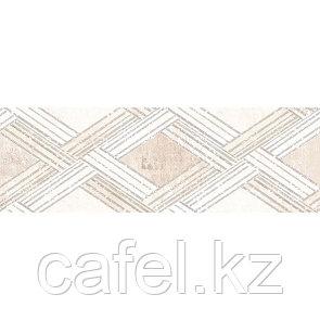 Кафель | Плитка настенная 20х60 Росси | Rossi бежевый декор 1753