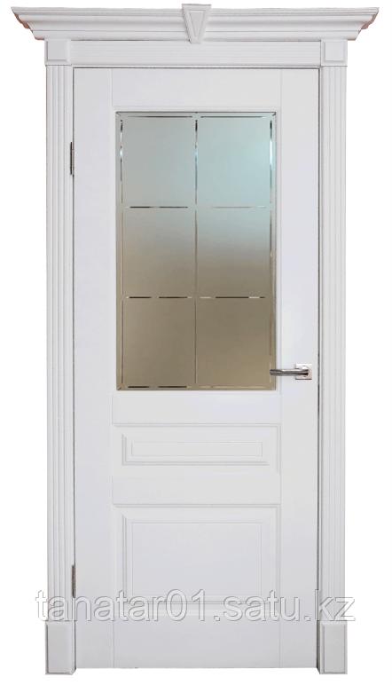 Дверь DL255 ДО, цвет Белая эмаль