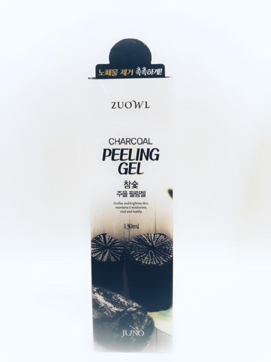 Пилинг-скатка с древесным углем Juno Zuowl Charcoal Peeling Gel 130 гр