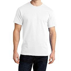 "Футболка для сублимации Сэндвич ""Unisex"" цвет: белый, размер 40 (3XS)"