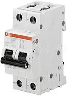 Выключатель автоматический модульный 2п C 0.5А 10кА S202MT-C0.5 ABB 2CDS272006R0984