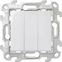 Выключатель 2-кл. ОП Simon 15 Aqua 10А IP54 винт. зажим бел. Simon 1594398-030