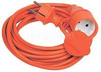 Удлинитель с сетевым фильтром 6х3м с заземл. 10А IP20 BU-SP3_USB_2A-W CCA 3х0.75 бел. BURO 992311
