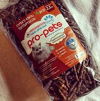 Наполнитель какао-древесный для туалета кошек Pro-Pets