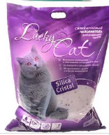 Силикагелевый наполнитель Lucky Cat, 5 л