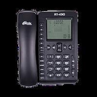 Телефон проводной Ritmix RT-490 черный