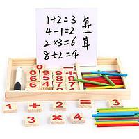 Игра настольная детская Calculating box CB36M деревянная