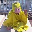 Пончо полотенце  утёнок, фото 2
