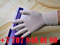 Латексные перчатки , с РУ, неопудренные, смотровые