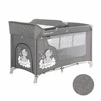 Кровать-манеж Lorelli MOONLIGHT 2 Серый / Grey Luxe 2068