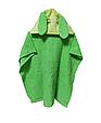 Пончо полотенце  зайка зеленый, фото 2