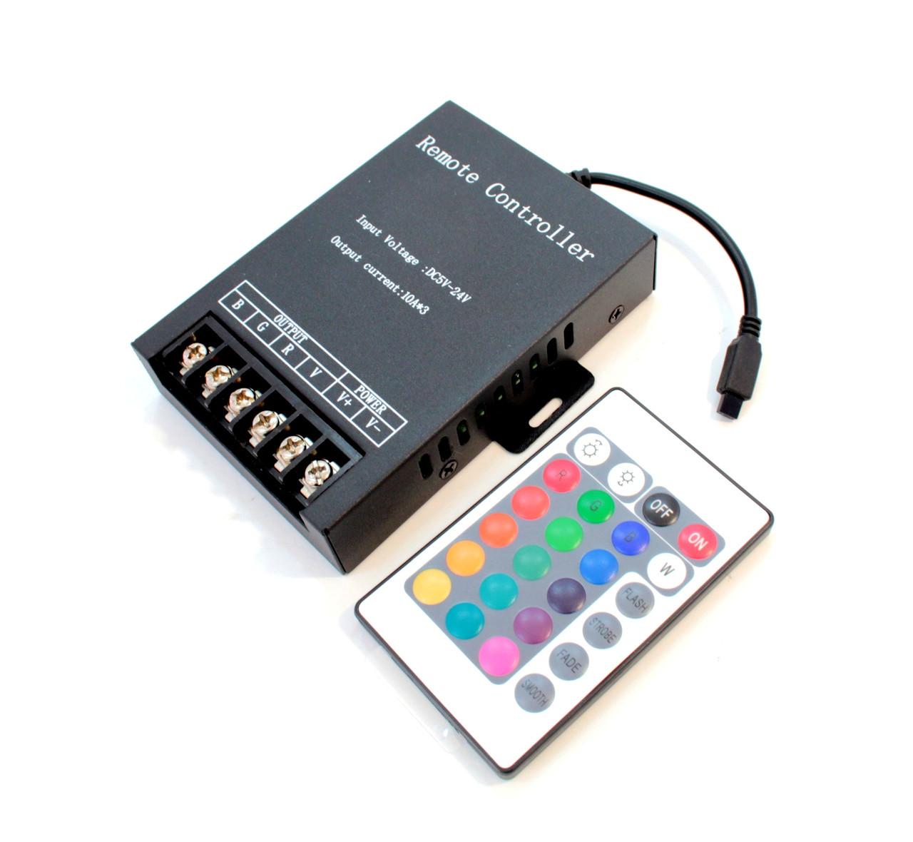 Контроллер RGB 360W 12V-M3Q-IR24