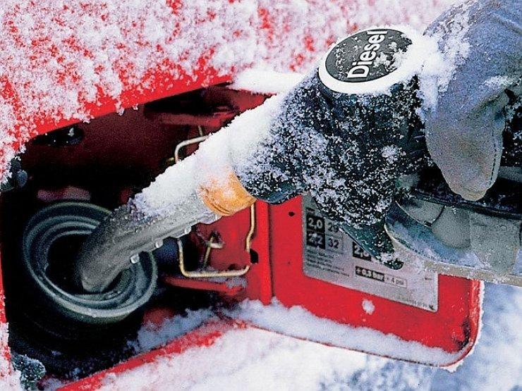 Зимнее дизельное топливо, доставка бесплатно
