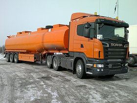 Услуги перевозки топлива