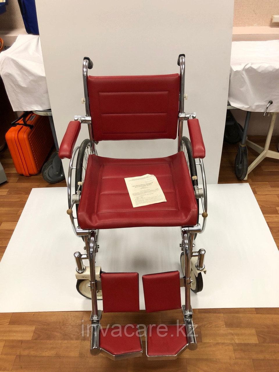 Кресло-коляска инвалидная складная с ручным приводом