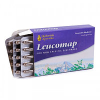 Лейкомап, мочеполовая и репродуктивная система, 60 кап Leucomap, Maharishi Ayurveda ср.год 09.2022г