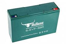 Тяговый гелевый аккумулятор RuTrike 6-EVF (6-EVF-32 (12V32A/H C3))