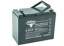 Тяговый гелевый аккумулятор RuTrike 6-EVF (6-EVF-38 (12V38A/H C3))