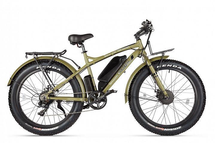 Велогибрид Volteco Bigcat Dual NEW (Army green)
