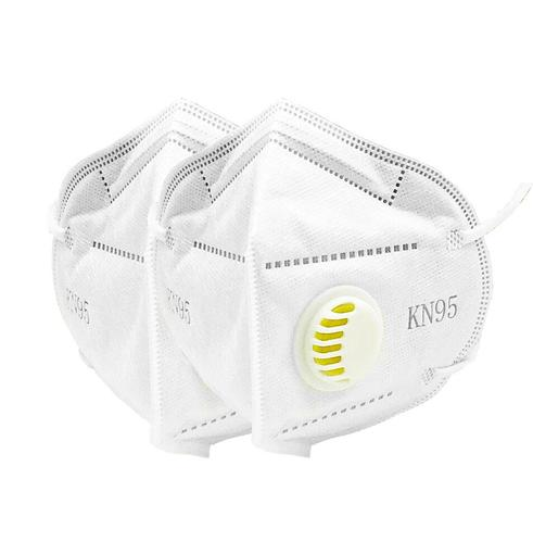 Маска респиратор KN95 с клапаном