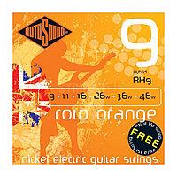 Струны для электрогитары Rotosound Roto Orange RH9